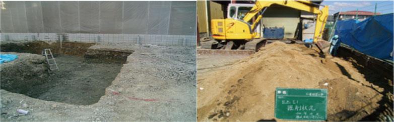 汚染土壌浄化工事